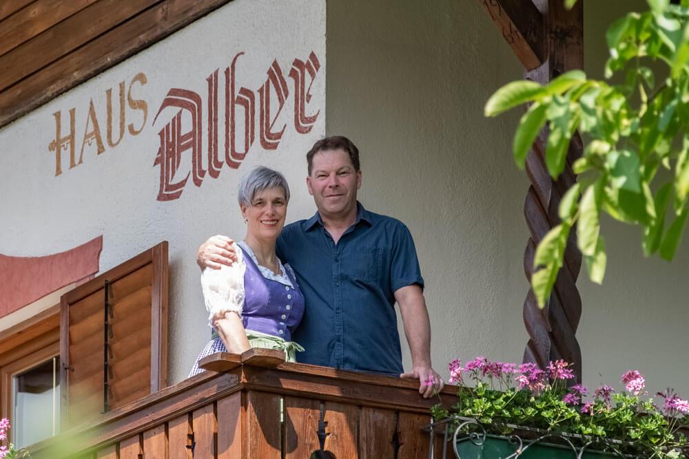 Ihre Gastgeber im Haus Alber